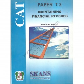 CAT Paper T-3 Maintaining Financial Records Skans