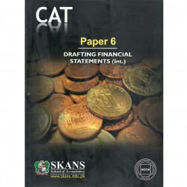 CAT Paper 6 Drafting Financial Statements (Int.)