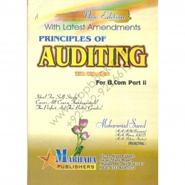 Auditing with Objectives  For B. Com Part II By Mohammad Saeed