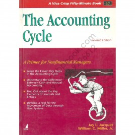 A Viva Crisp Fifty-Minute Book The Accounting Cycle Jay L. Jacquet