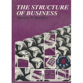 The Structure Of Business By Martin W. Buckley