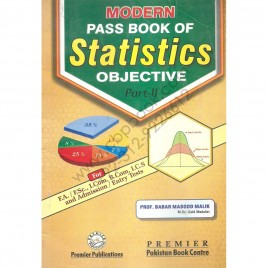 Pass Book Of Statistics Objective Part II By Prof. Babar Masood Malik