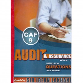 CAF 9 Audit & Assurance Volume-I Compiled By Sir Irfan Lakhani