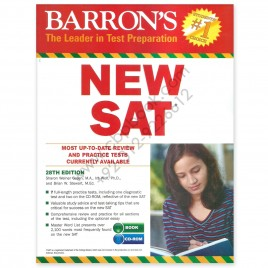 Barron's NEW SAT 28th Edition 2016 with 7 Full-Length Practice Tests with CD-ROM