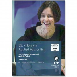 BSc (Hons) In Applied Accounting Tutorial Text 2016 BPP