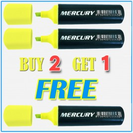 Mercury Text Marker Highlighter BUY 2 GET 1 FREE!!