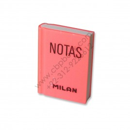 Millan Plastic 2036 Eraser Notas Made in Spain