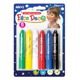 Amos Face Deco 6 Colors Made In Korea