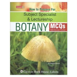 Caravan Botany MCQs For Lecturship & Subject Specialist By Dr Hammad Ashraf