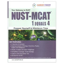 Career Finder Your Gateway To NUST NUST-MCAT 1 Equals 4