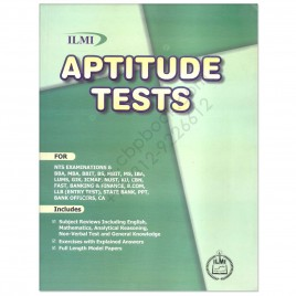 ILMI Aptitude Tests Book including Full Length Model Papers Ilmi Kitab Khana