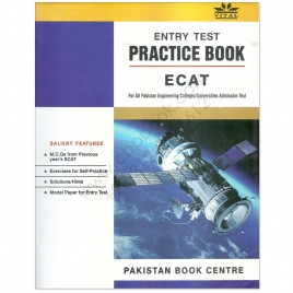 Vital Entry Test Practice Book ECAT 2016 Pakistan Book Centre