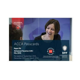 ACCA Paper P6 Advanced Taxation UK Passcards 2016 2017 BPP