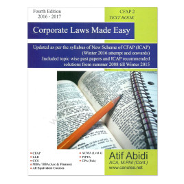 Corporate Laws Made Easy Atif Abidi 2016 17 Fourth Edition