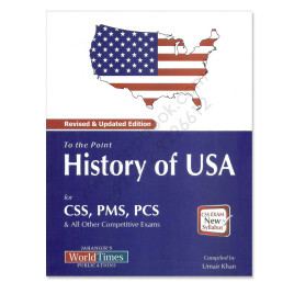 To The Point History Of USA For CSS PMS By Umair Khan Jahangir Books