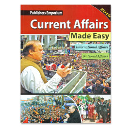 Current Affairs Made Easy 2016 With MCQs Publishers Emporium