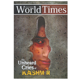 Jahangir WorldTimes Magazine Kashmir Aflame Again Vol 9 Issue XII September 2016