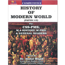 History Of Modern World Paper 1 and 2 By Dr Abdul Majid AH Publishers