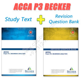 ACCA Paper P3 Study Text & Revision Question Bank 2016 2017 Becker