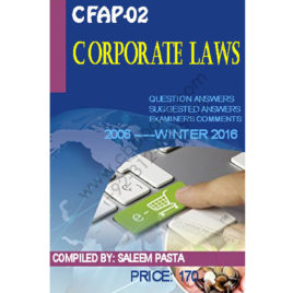CFAP 02 Corporate Laws Compiled by Saleem Pasta