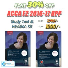 ACCA Paper F2 Study Text and Practice & Revision Kit 2016 2017 BPP
