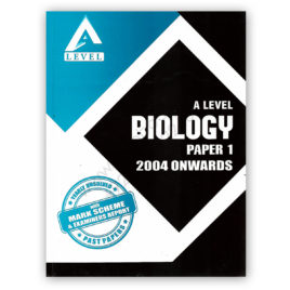 A Level BIOLOGY Paper 1 Yearly Unsolved Past Papers From 2004 – Nov 2016