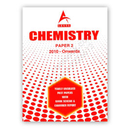 A Level CHEMISTRY Paper 2 Yearly Unsolved Past Papers 2010 – Nov 2017