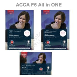 ACCA Paper F5 Per. Manag. ALL IN ONE (Text, Kit & Passcards) 2016 2017 BPP