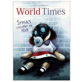 Jahangirs WorldTimes Magazine Syria's Children of War May 2017