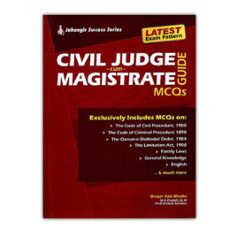 JWT CIVIL JUDGE cum MAGISTRATE MCQs By Waqar Aziz Bhutta