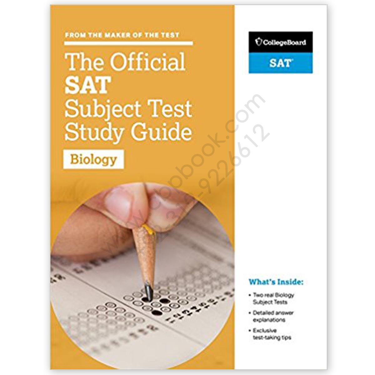 The Ultimate SAT Biology Subject Test Study Guide