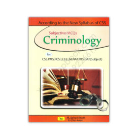 Subjective/MCQs Criminology For CSS PMS By M Sohail Bhatti