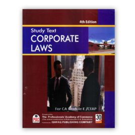 CA CFAP 2 Corporate Laws 4th Edition 2017 PAC By Aamir Shahbaz