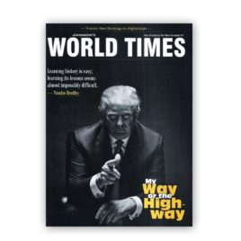 Jahangirs WorldTimes Magazine My Way or The High Way September 2017