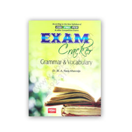 Exam Cracker Grammar and Vocabulary By Dr M A Raza Khawaja – HSM