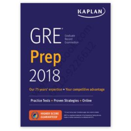 GRE Prep 2018 with Practice Tests + Proven Strategies + Online – Kaplan