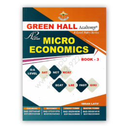 A2 Level MICRO ECONOMICS Notes Book 3 By Imran Latif – Green Hall