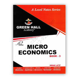 A2 Level MICROECONOMICS Notes Book 3 By Imran Latif – Green Hall