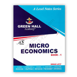 AS Level MICROECONOMICS Notes Book 1 By Imran Latif – Green Hall