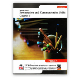 CA WRITING SKILLS Presentation and Communication Skills Course 1 PCSC 1 – PAC