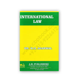 International Law By Dr. H.O. Agarwal (Soft Cover) – AH Publishers