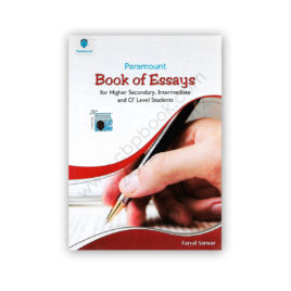 BOOK OF ESSAYS By Faryal Sarwar – PARAMOUNT Books (Pvt) Ltd