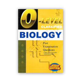 O Level Classified BIOLOGY Past Examination Questions 2018 REDSPOT