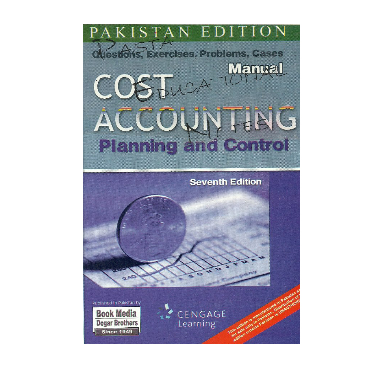 cost accounting planning and control 7th edition manual adolph matz and milton f usry