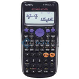 casio scientific calculator fx-82es plus bk original
