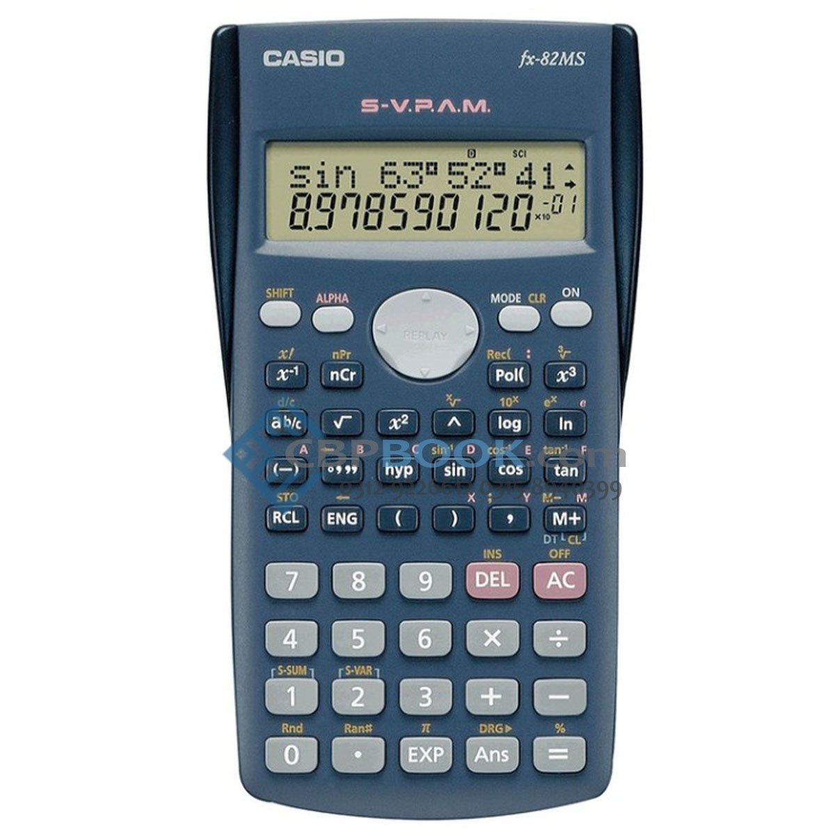 casio scientific calculator fx-82ms original