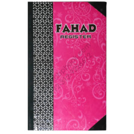 fahad register hard bind 400 pages