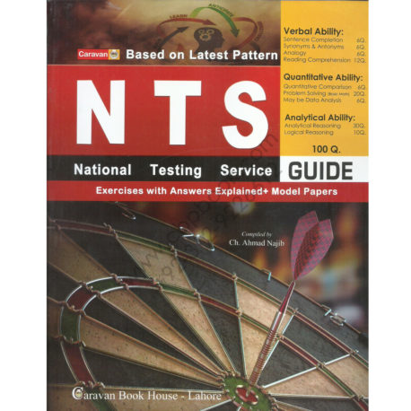 national testing service (nts) guide by caravan book house