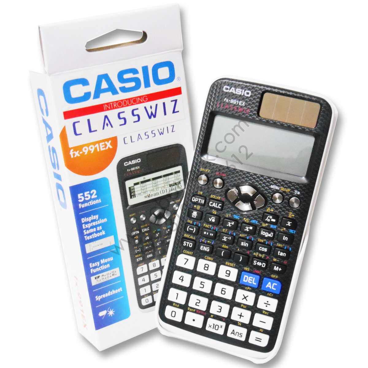 casio scientific calculator fx-991ex classwiz original