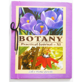 botany practical journal 2015 2016 for first year zille huma qureshi